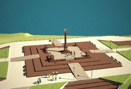 Глава региона предложил рушанам самим выбрать место для стелы «Город воинской славы»