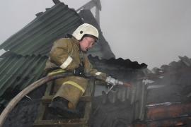 В сгоревшем доме в Сольцах обнаружено тело пожилой женщины
