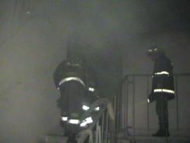 Ночью сгорело здание администрации Турбинного сельского поселения