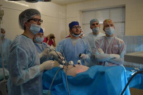 Медики НовГУ стали третьими на «Лапароскопических играх»