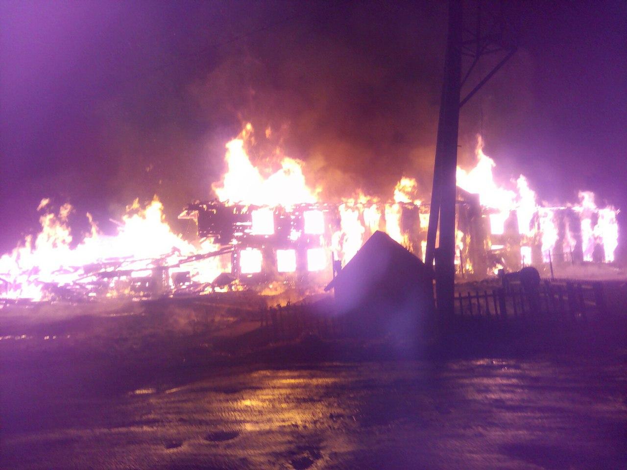 После пожара в Новгородском районе погиб спасатель