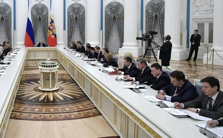 Андрей Никитин принял участие в заседании президентского совета по стратегическому развитию и приоритетным проектам