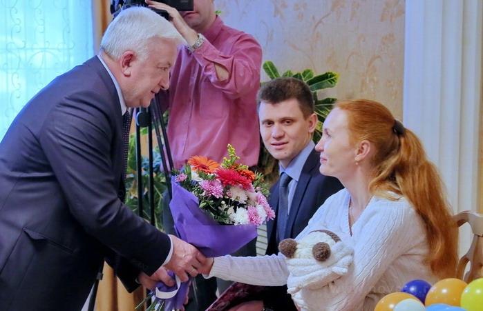 В Новгородской области зарегистрировали тысячного новорожденного