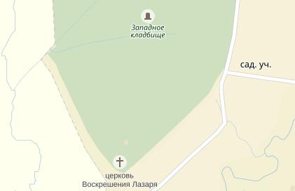 Новгородец пожаловался на безобразное состояние Западного кладбища