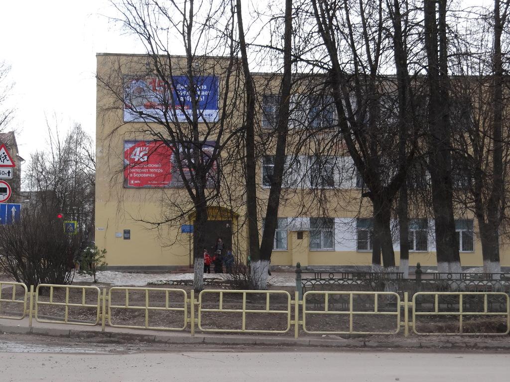 Боровичские депутаты потребовали убрать рекламные баннеры со зданий школ