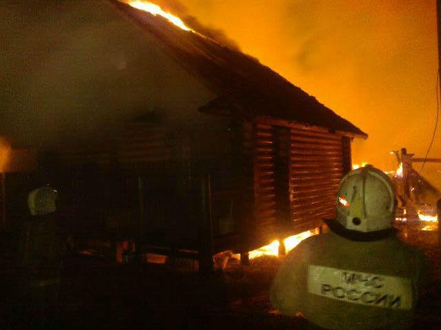 В Новгородской области в прошедшие сутки массово горели бани