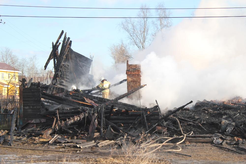 Сегодня на пожаре в Чудове погиб человек