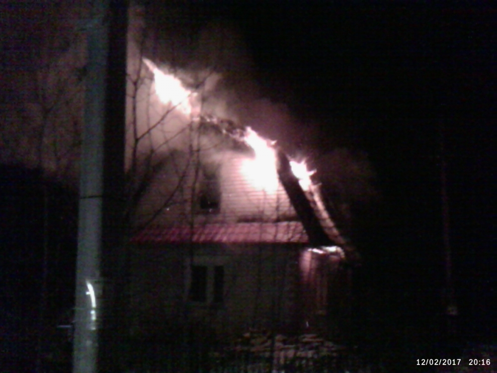 На пожаре в Крестцах погиб мужчина