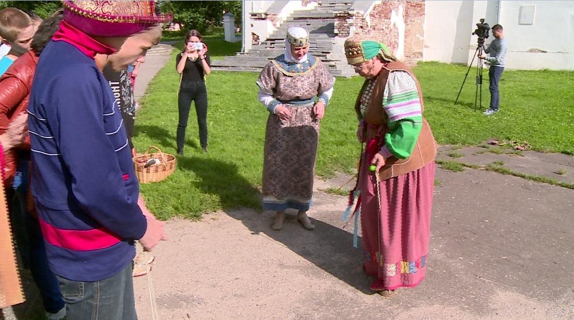 В Великом Новгороде туристы смогут играючи познакомиться с древностями