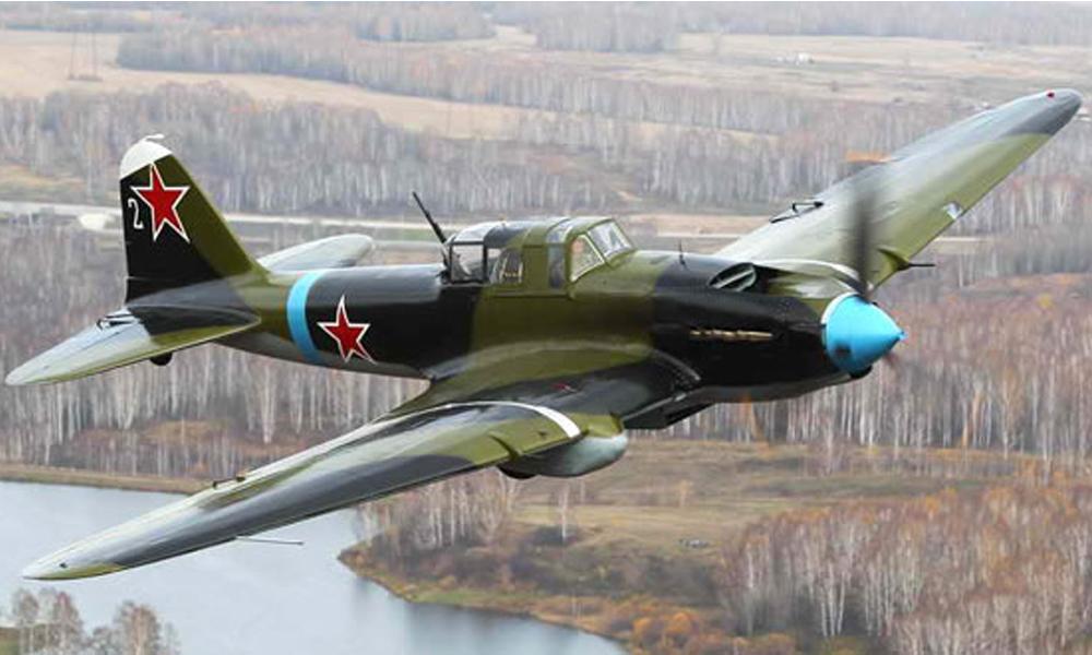В Новгородской области  найден хорошо сохранившийся советский штурмовик ИЛ-2