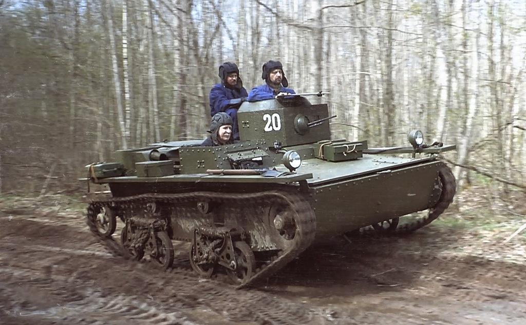 22 июня в Новгородскую область въедет техника времен Великой Отечественной войны