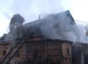 Пожар в Маревском районе: три дома и один пострадавший