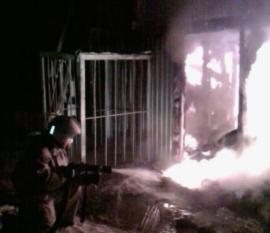 Маловишерский завод пряностей и специй вновь был охвачен пламенем