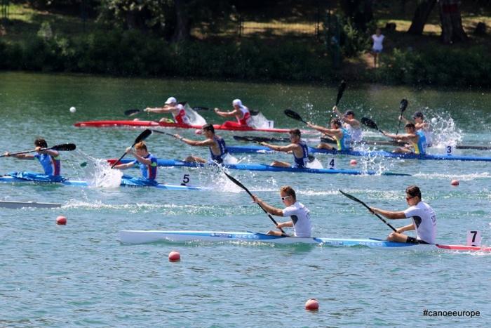 Новгородский байдарочник вошел в пятерку сильнейших на первенстве Европы в Белграде