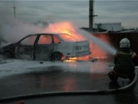 «Опель» и «Лада» в огне: пожары в Валдае и в Великом Новгороде