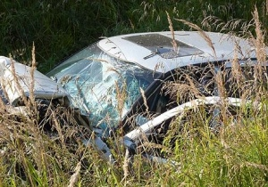 В Маловишерском районе опрокинулся «Форд Фокус», наехав на опору ЛЭП: погиб водитель, двое пострадали
