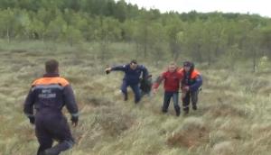 Видео: кадры спасения пропавших детей в шимских лесах