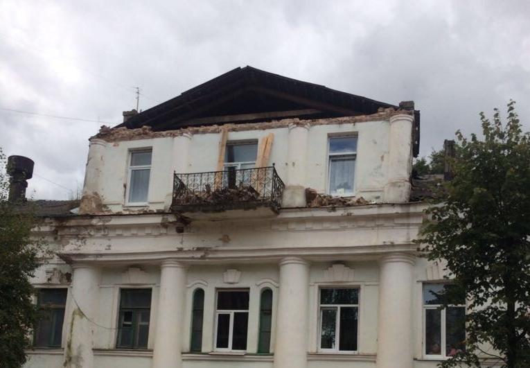 В Старой Руссе началась доследственная проверка после обрушения Дома Беляева