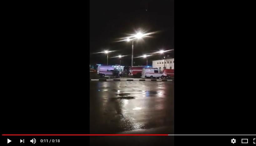 Видео: новгородский вокзал атаковал телефонный террорист