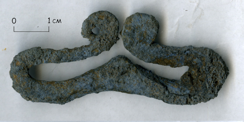 На Соборной площади в Старой Руссе обнаружен артефакт XI века