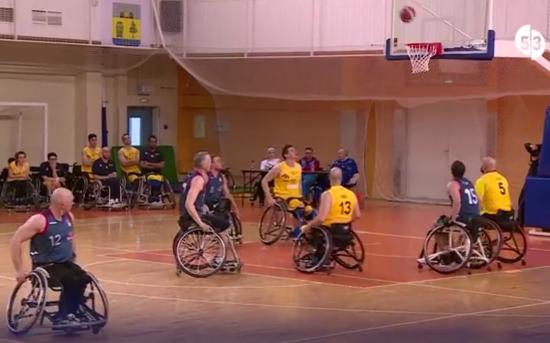 В Великом Новгороде прошел раунд Евролиги по баскетболу на колясках