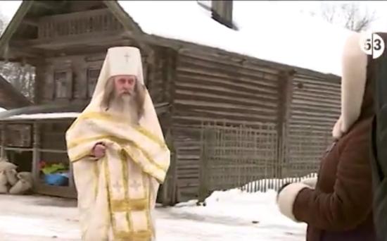 Актер новгородского театра играет епископа в сериале про Рюриковичей