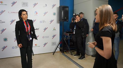 Тина Канделаки ответила на спортивный вопрос корреспондента НТ