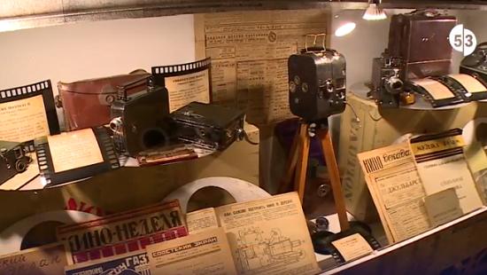 Сегодня в Великом Новгороде открылся первый частный киномузей в России