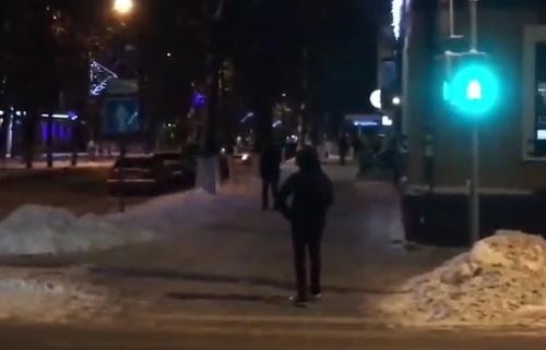 Как в Великом Новгороде светофоры зависли