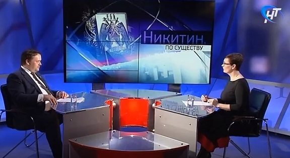 На НТ Андрей Никитин расскажет о своем плане работы в 2018-м