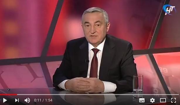 Юрий Бобрышев на НТ рассказал о ремонте дорог в Великом Новгороде