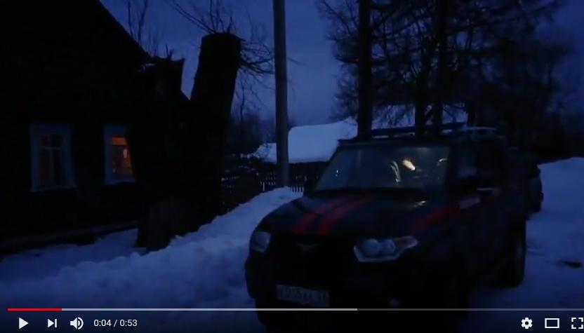 «53 секунды»: на месте чрезвычайного происшествия в пестовской деревне Назарьино продолжают работать следователи