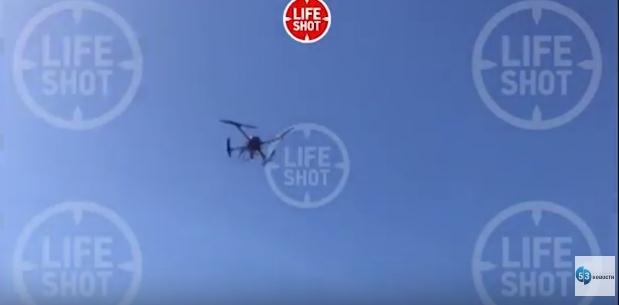 Видео с новгородским дроном попало в телеграм-канал LIFE SHOT - «Почта России», бойся!