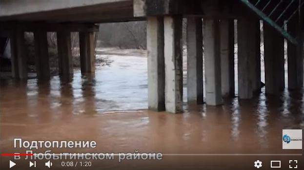 МЧС развернуло штаб для борьбы с последствиями потопа в Любытинском районе