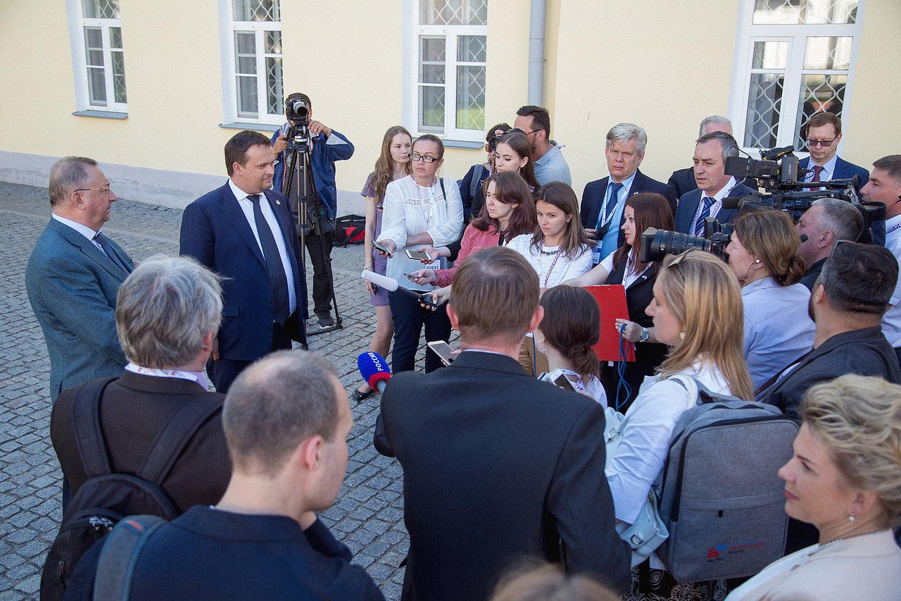 Президент «Транснефти» рассказал «53 новостям», почему Великий Новгород выбрали для российско-американского форума