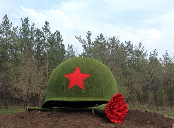 Сегодня в Демянском районе захоронили останки 176 советских бойцов