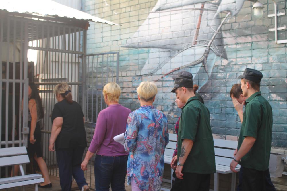 В новгородском СИЗО родственники посетили осужденных