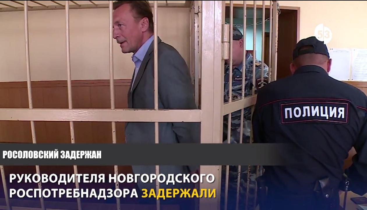 Видео из зала суда: Анатолия Росоловского взяли под стражу