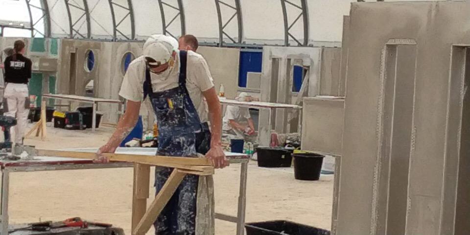 Андрей Никитин поздравил строителей с профессиональным праздником