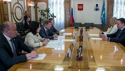 Новгородская и Сахалинская области договорились о сотрудничестве