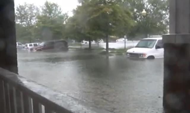 Видео: новгородка оказалась свидетелем сверхурагана на восточном побережье США