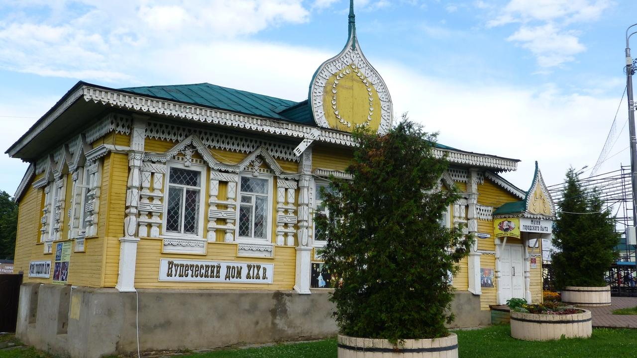 Новгородцы посетили таинственный русский город, где наехали на музей