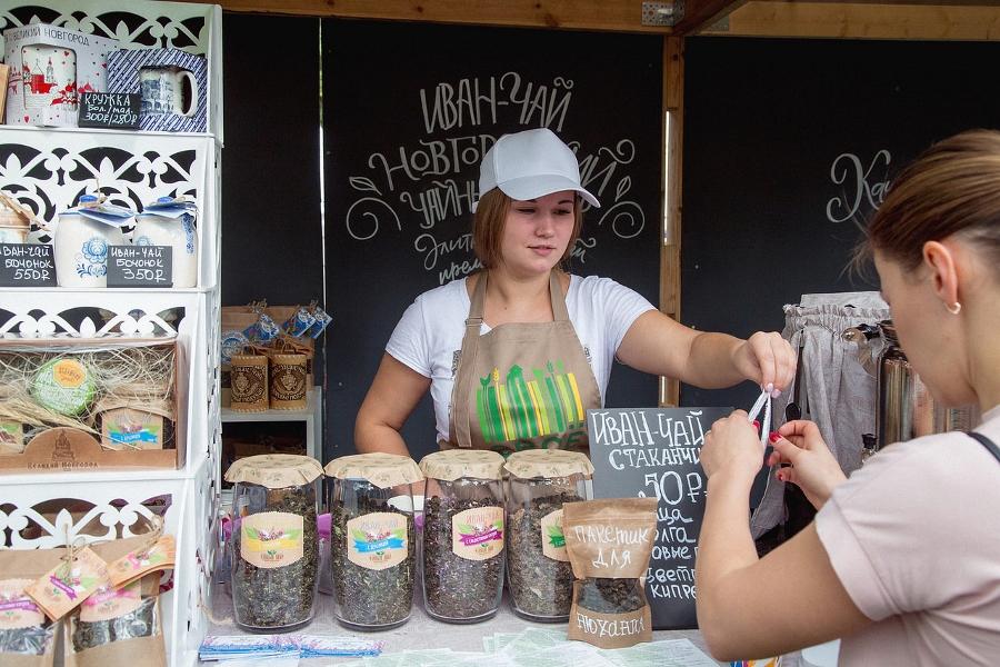 При поддержке РСХБ в Великом Новгороде прошел региональный этап Общероссийского фестиваля нашей еды «Своё»