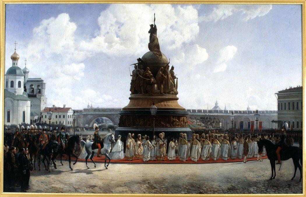 В новгородском музее изобразительных искусств снимут с экспозиции картину Богдана Виллевальде
