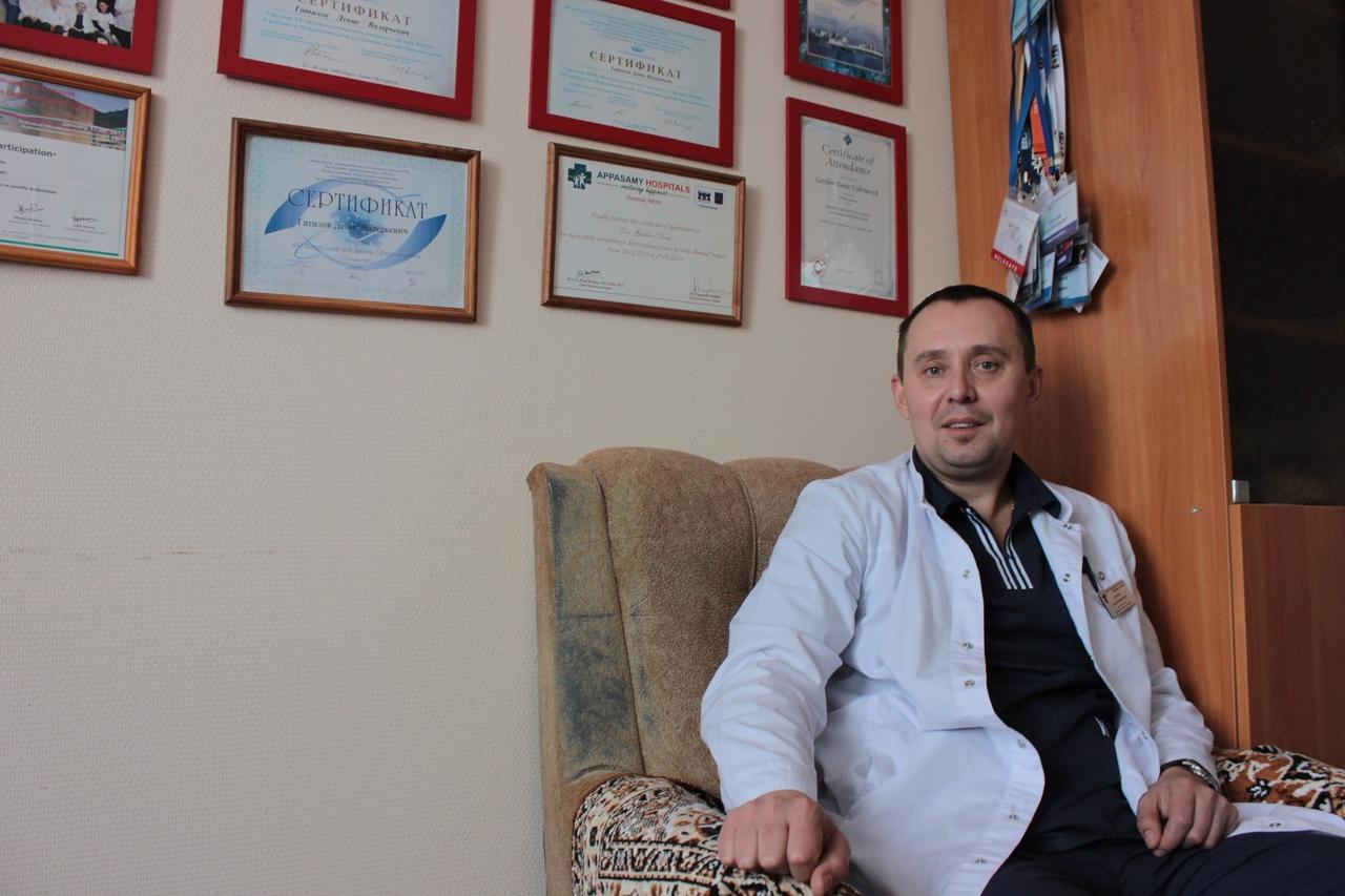«53 врача»: офтальмолог Денис Гатилов