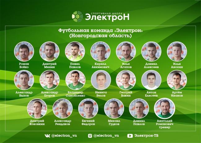 футбольный клуб электрон москва