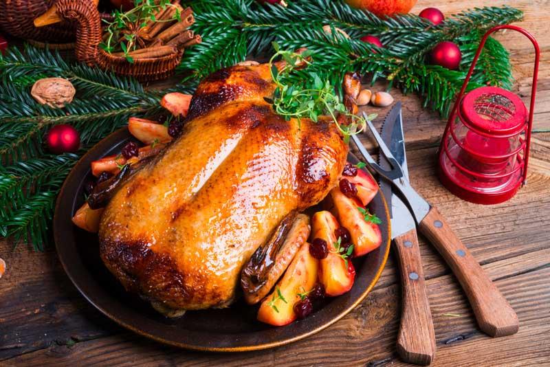 «53 новогодних рецепта»: рождественская утка