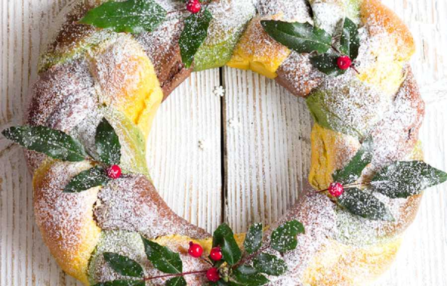 «53 новогодних рецепта»:  бельгийский рождественский венок