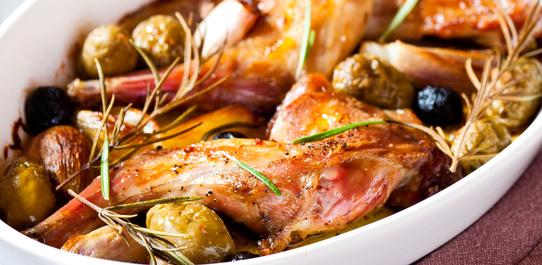 «53 новогодних рецепта»: кролик по-голландски