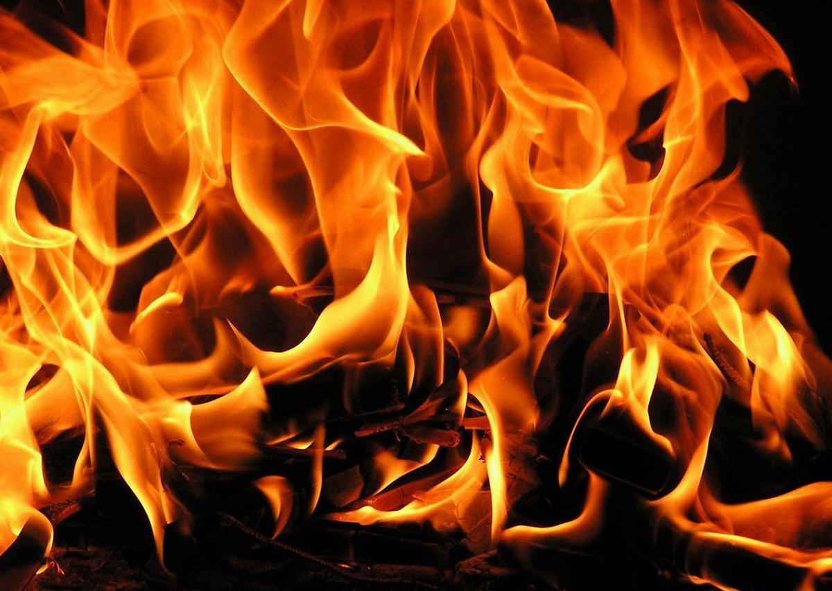 На пожаре в Боровичском районе погиб 40-летний мужчина